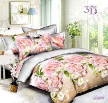 Комплект постельного белья 1,5 поплин
